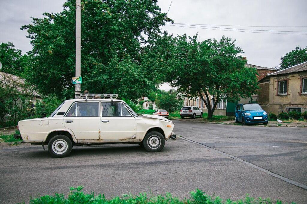 У Дніпрі зіткнулися ВАЗ і Citroen