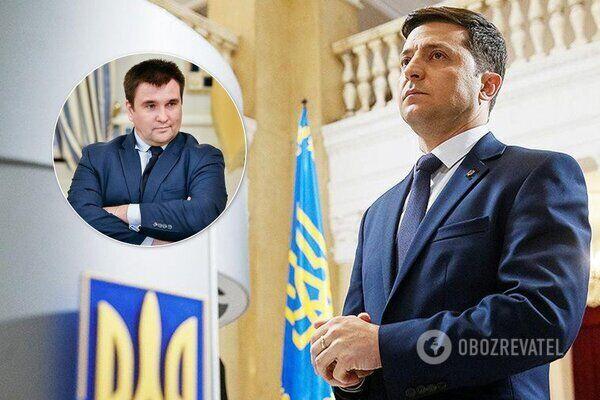 Павло Клімкін і Володимир Зеленський