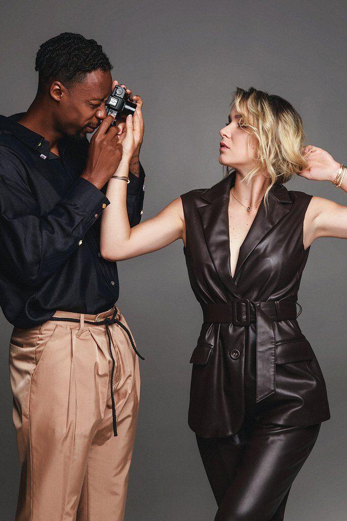Милота дня: Свитолина и Монфис снялись в стильной фотосессии