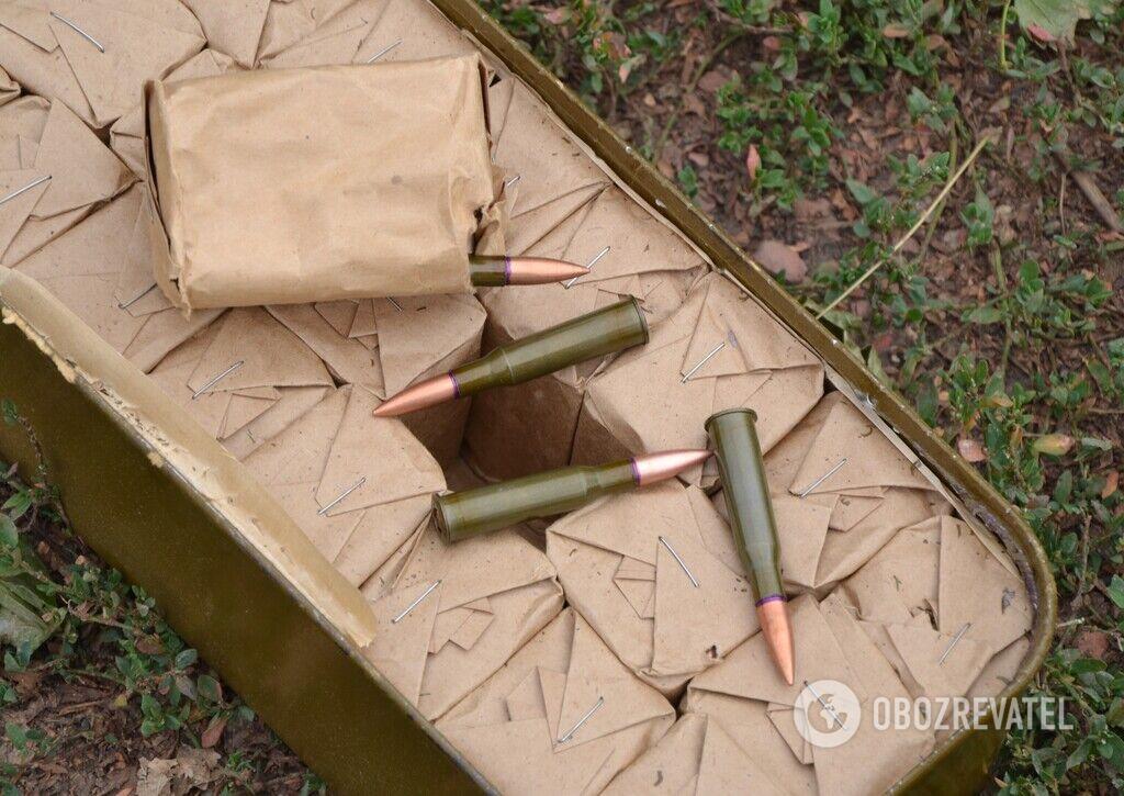 Российские боеприпасы на Донбассе