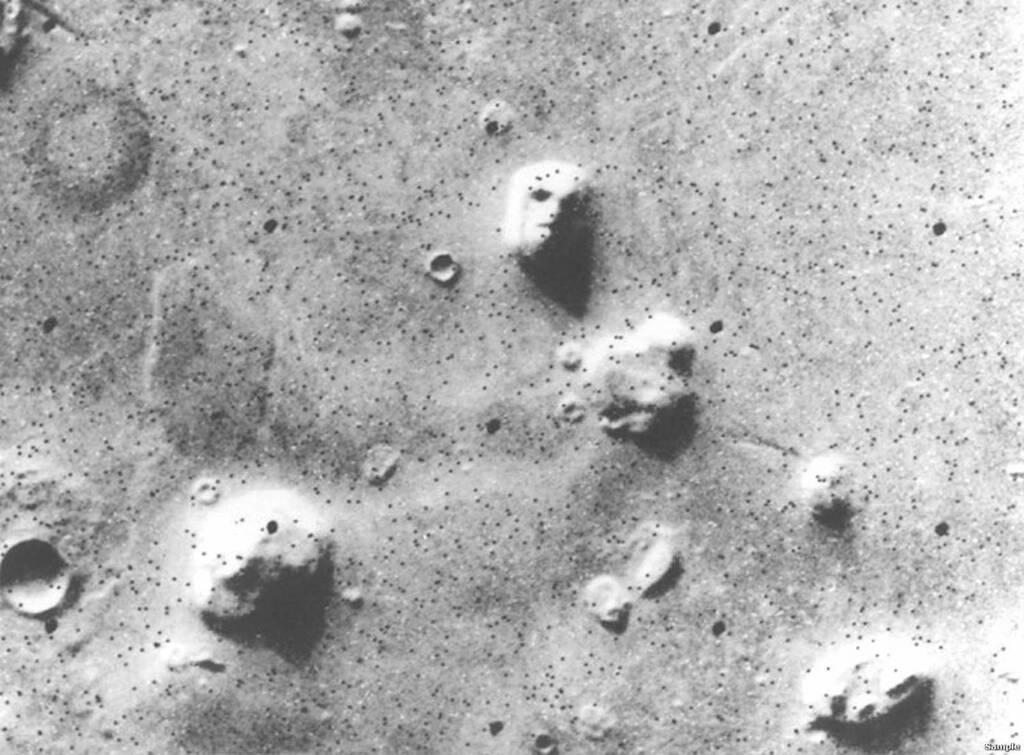 """Марсіанський """"Сфінкс"""""""