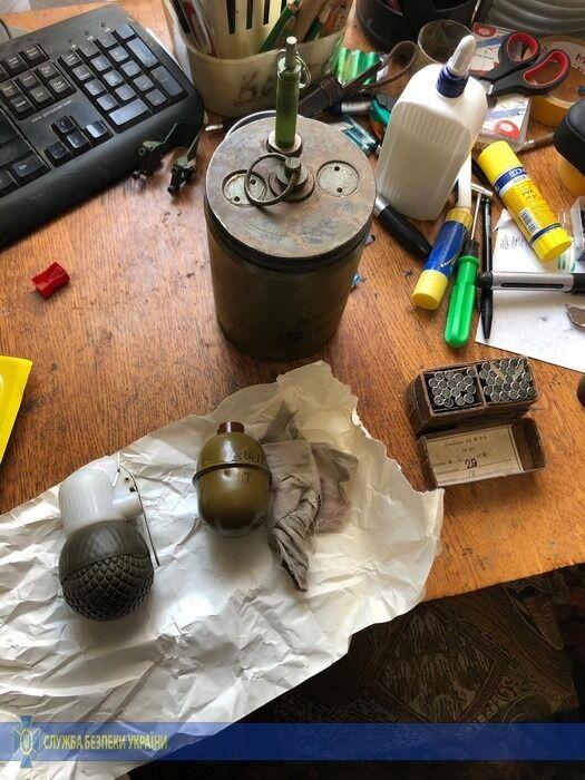 При обыске нашли взрывчатку