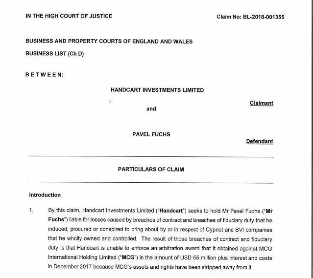 Олигарха Фукса в Англии будут судить за мошенничество: что известно