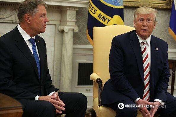 Встреча Трампа и Йоханисса в Белом Доме