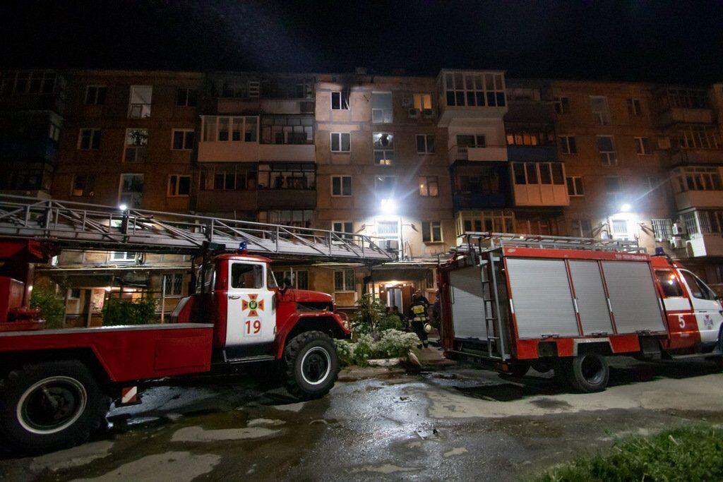 У Дніпрі під час пожежі загинула жінка