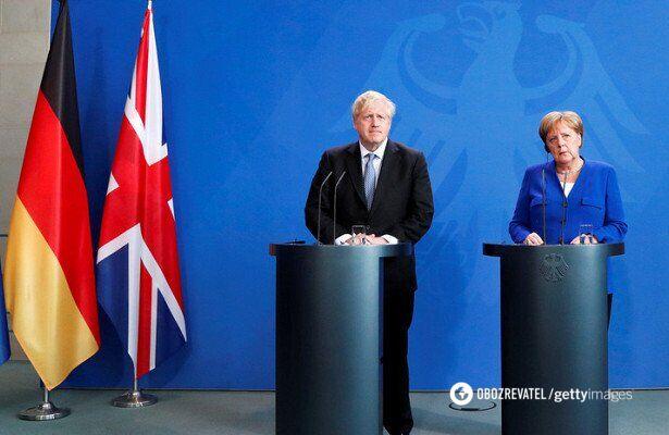 Джонсон і Меркель виступили проти Росії в G8