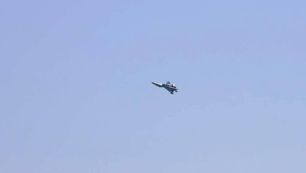 Тренування авіації ОС на Донбасі