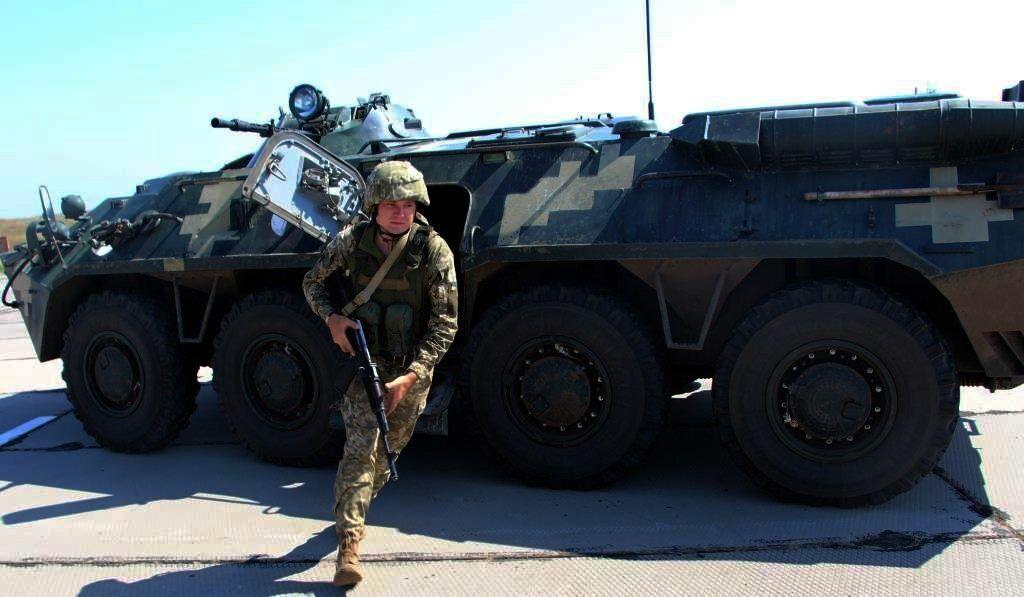 Також відпрацьовувалася охорона і оборона аеродрому