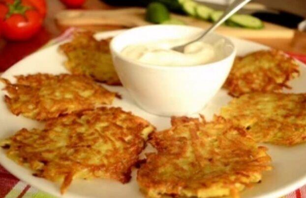 Рецепт дивовижно смачних дерунів по-білоруськи