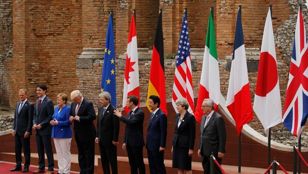 Саммит G7 в 2018 году