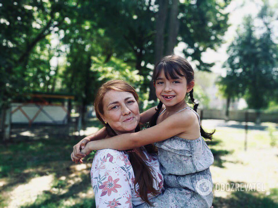 Тамара с дочкой сегодня