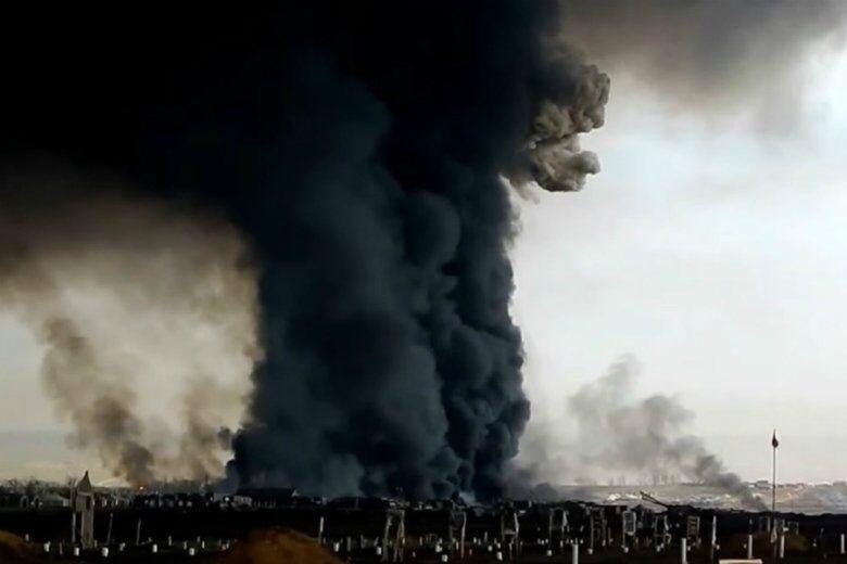 Взрыв на полигоне под Северодвинском