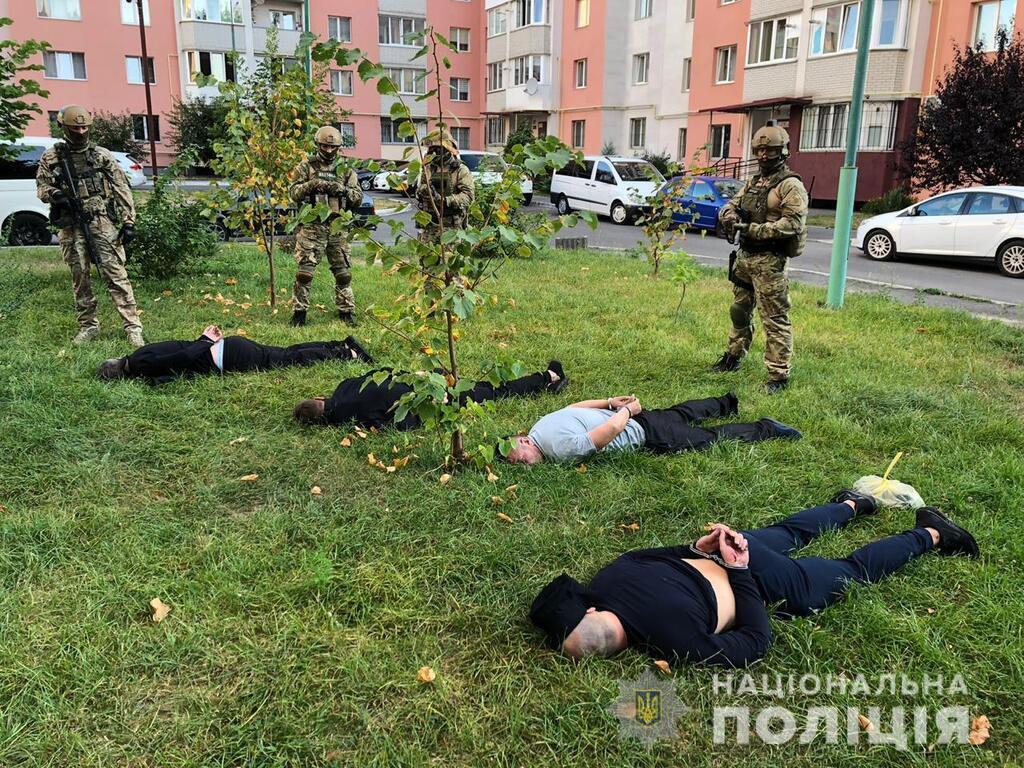 Полиция задержала банду грабителей