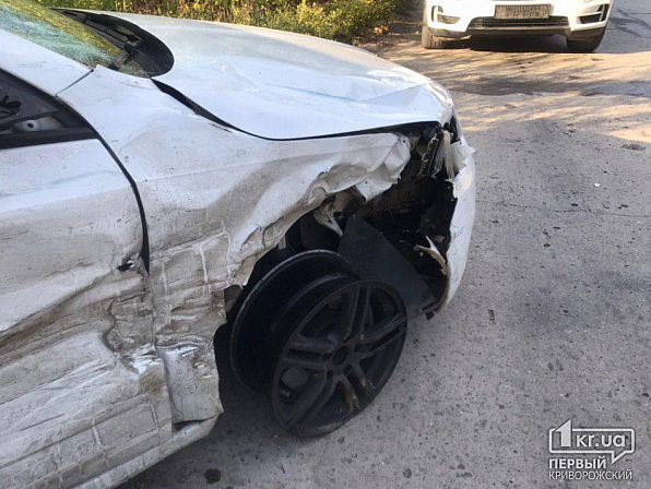 У Кривому Розі зіткнулися Chevrolet і Skoda