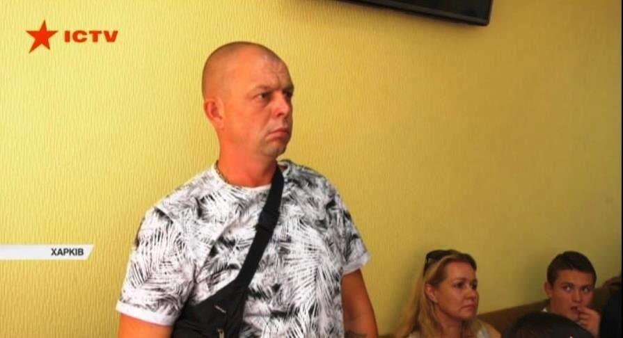 Отец подозреваемого Денис Редин