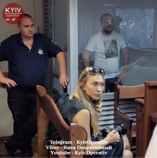 Суд взял под стражу участников стрельбы в Киеве