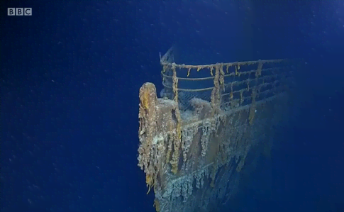 """Как выглядит """"Титаник"""" спустя 107 лет: появились уникальные кадры"""