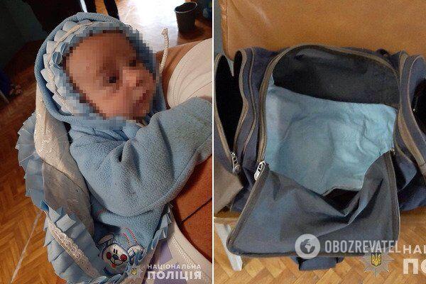 У Кам'янському мати кинула немовля на порозі лікарні