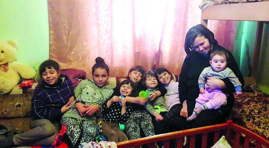 Марія Ракус з донечками