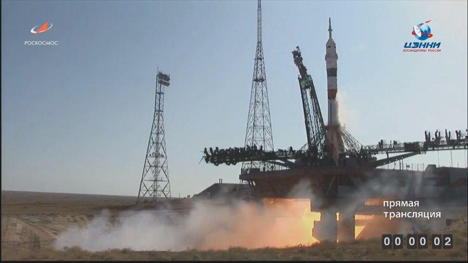 Запуск ракети на Байконурі