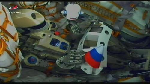 Робот Федір в ракеті