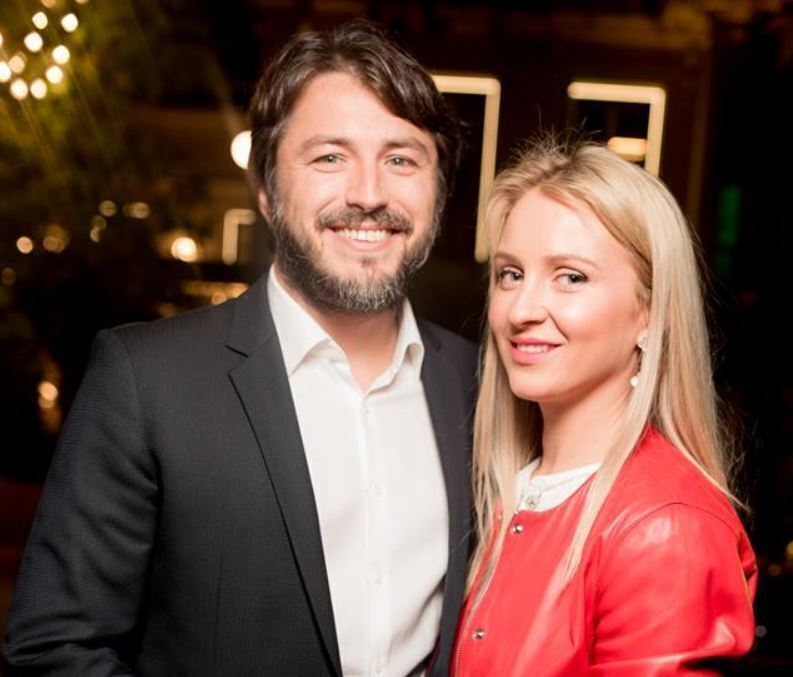 Сергій Притула з дружиною Катериною