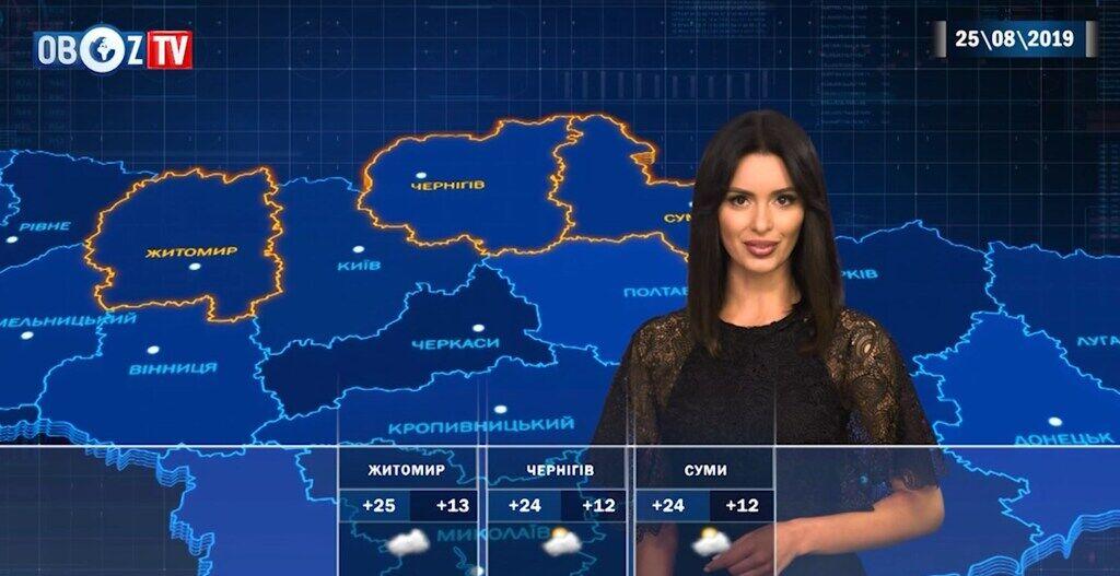 До +32 и без дождей: прогноз погоды в Украине на 25 августа от ObozTV