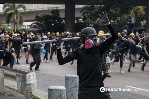 """""""Майдан"""" в Гонконзі спалахнув з новою силою: вражаючі фото і відео"""