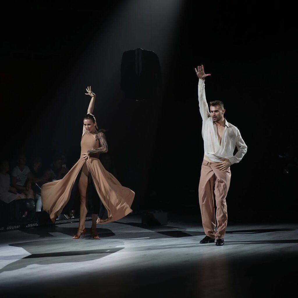 """Ризатдинова на шоу """"Танці з зірками"""""""