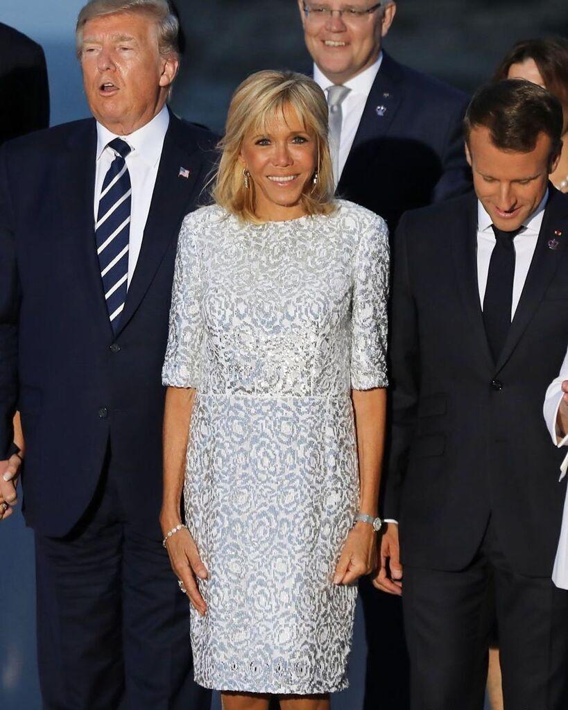 Сукня Бережіть Макрон в металевому стилі