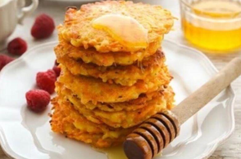 Рецепт смачних дерунів з яблук