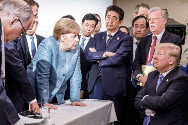Лидеры на прошлых встречах