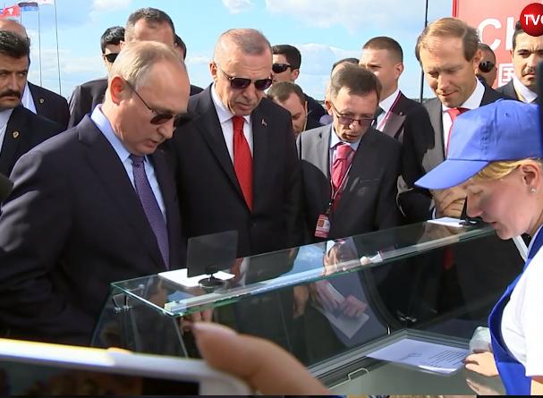 Путин купил мороженое у той же продавщицы, что два года назад