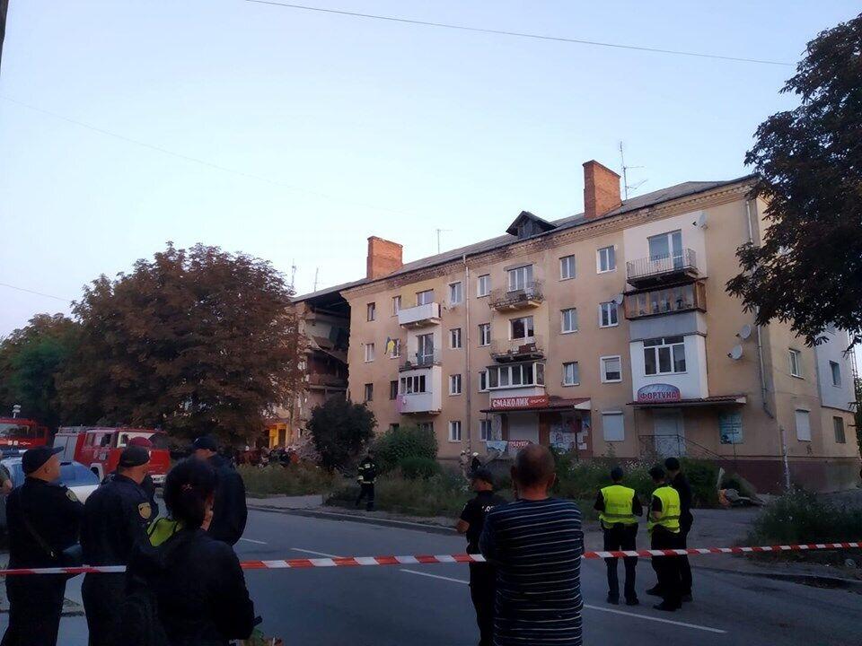 ЧП в доме в Дрогобыче