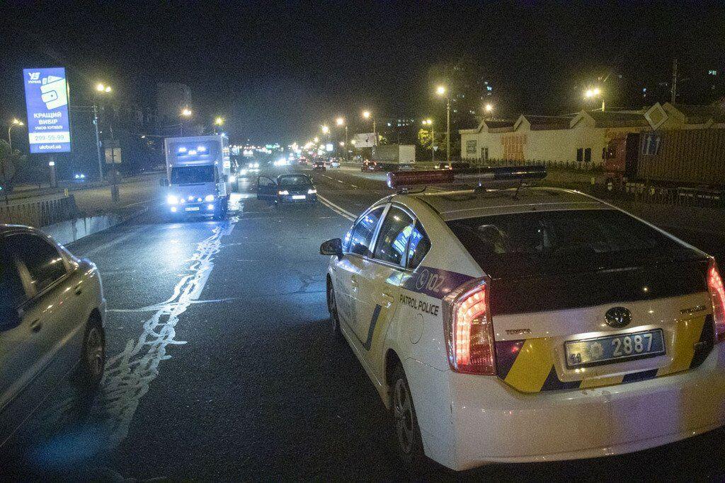У Києві трапилася ДТП за участю пішохода і авто