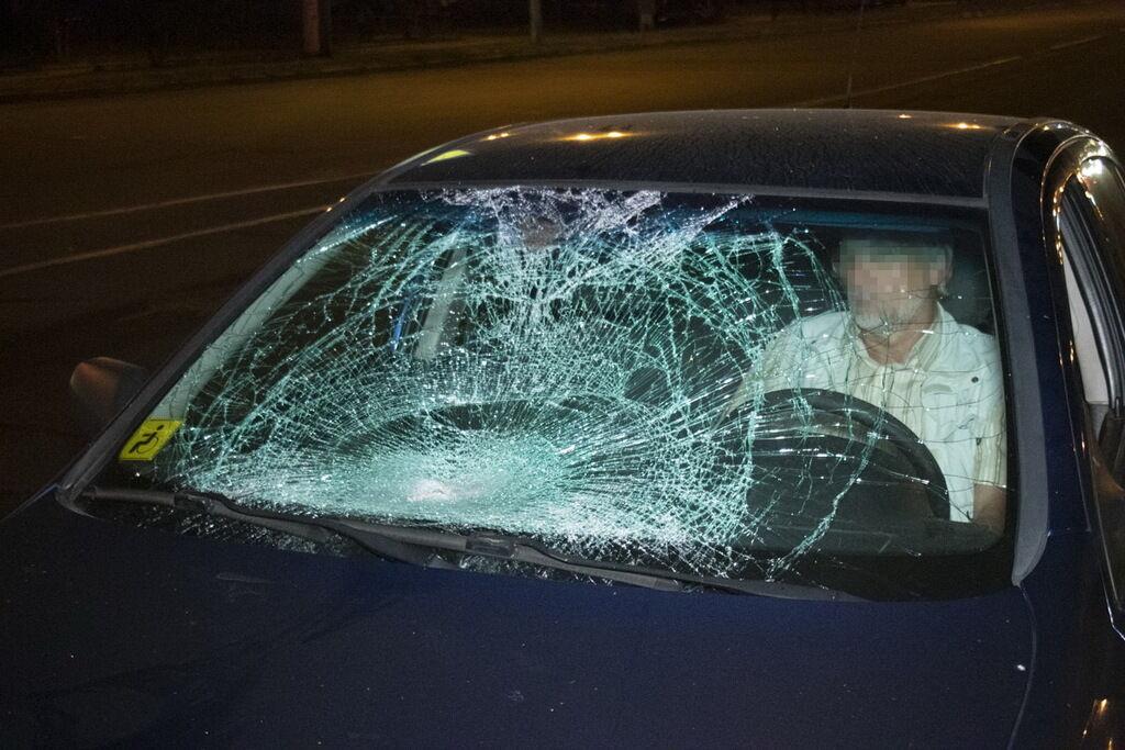 Автомобіль збив його