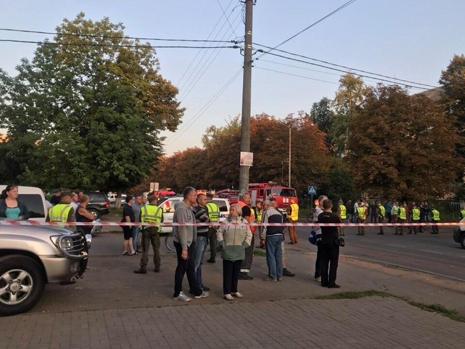 Вибух газу в Дрогобичі