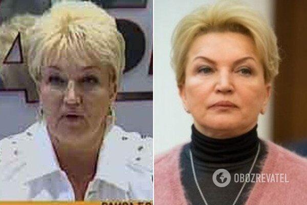 Раиса Богатырева до и после
