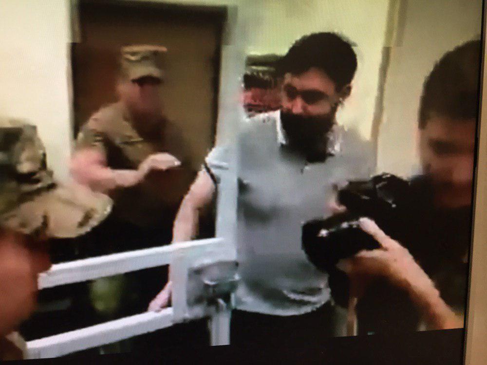 Вишинського звільнили в залі суду