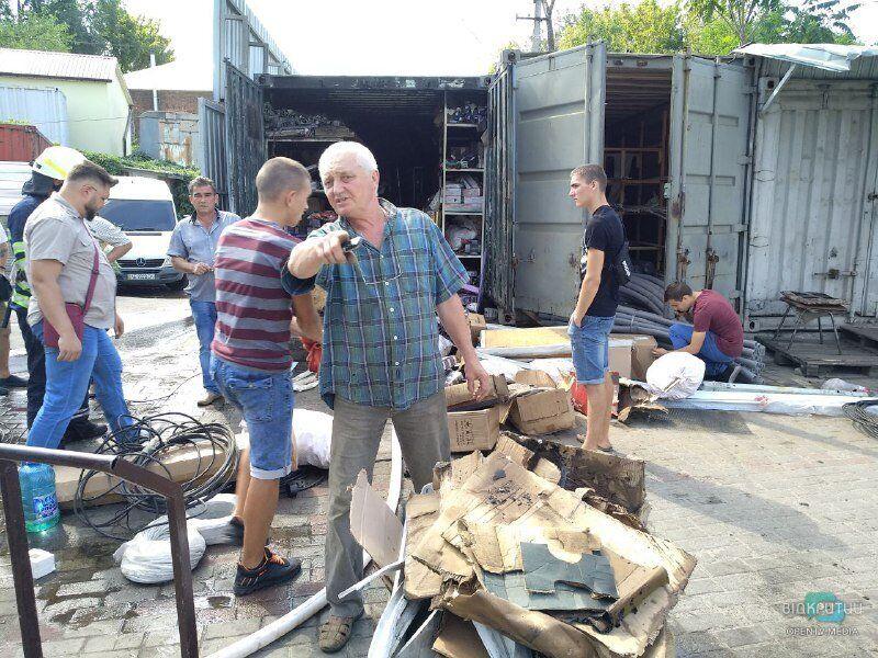 У Дніпрі горів Курчатовський ринок