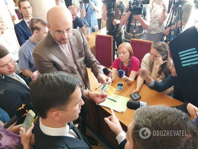 Сергій Рудик влаштував скандал у Раді