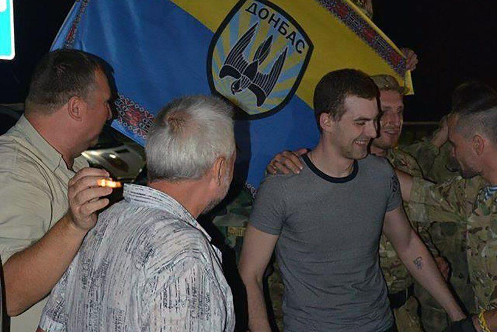 Освобождение Андрея Скачкова из плена