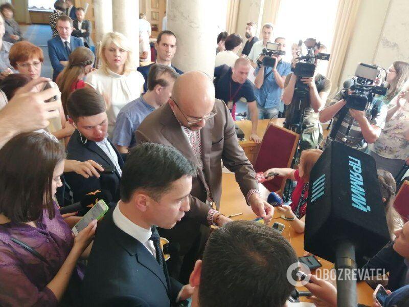 Скандал с нардепом Рудыком