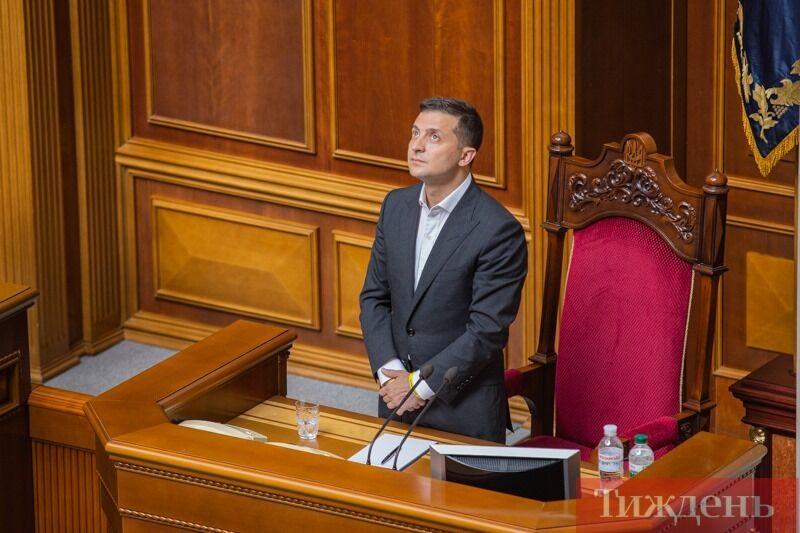 Президент Володимир Зеленський у Раді