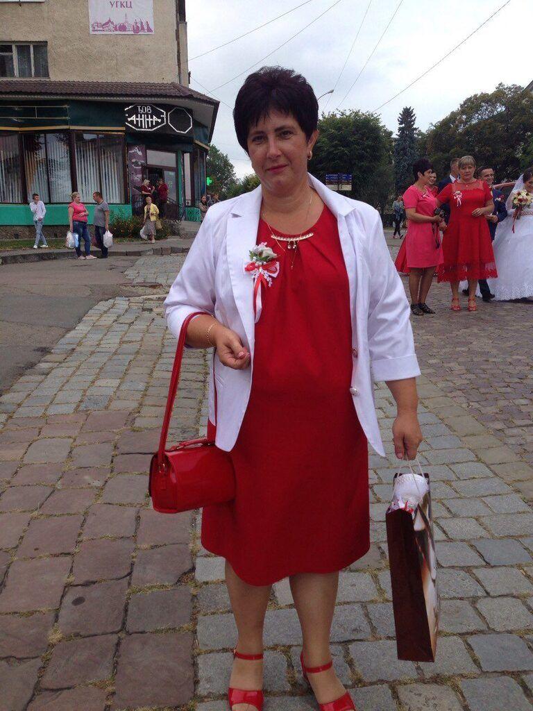 Погибшая Ольга Баран