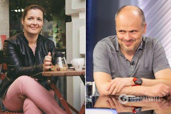 Зоряна Скалецька і Михайло Радуцький