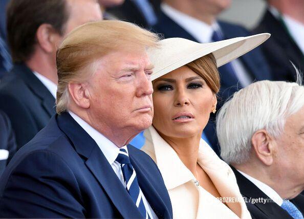 Дональд Трамп і його дружина Меланія