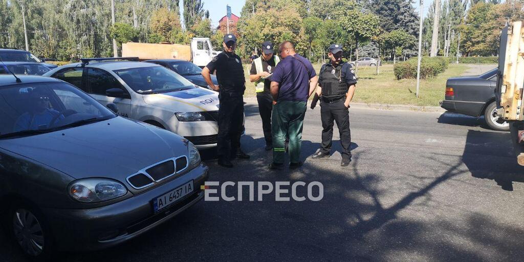 Фура сбила ребенка в Киеве