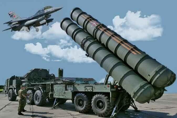 """Зенитный комплекс С-400 """"Триумф"""""""