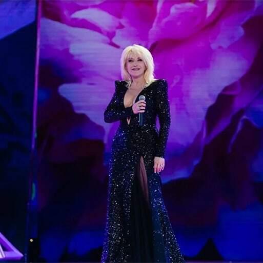 Ірина Аллегрова на сцені